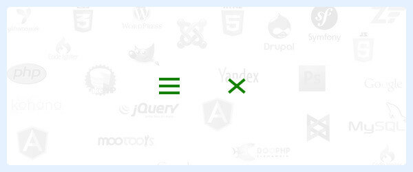 Как сделать гамбургер кнопку на HTML и CSS